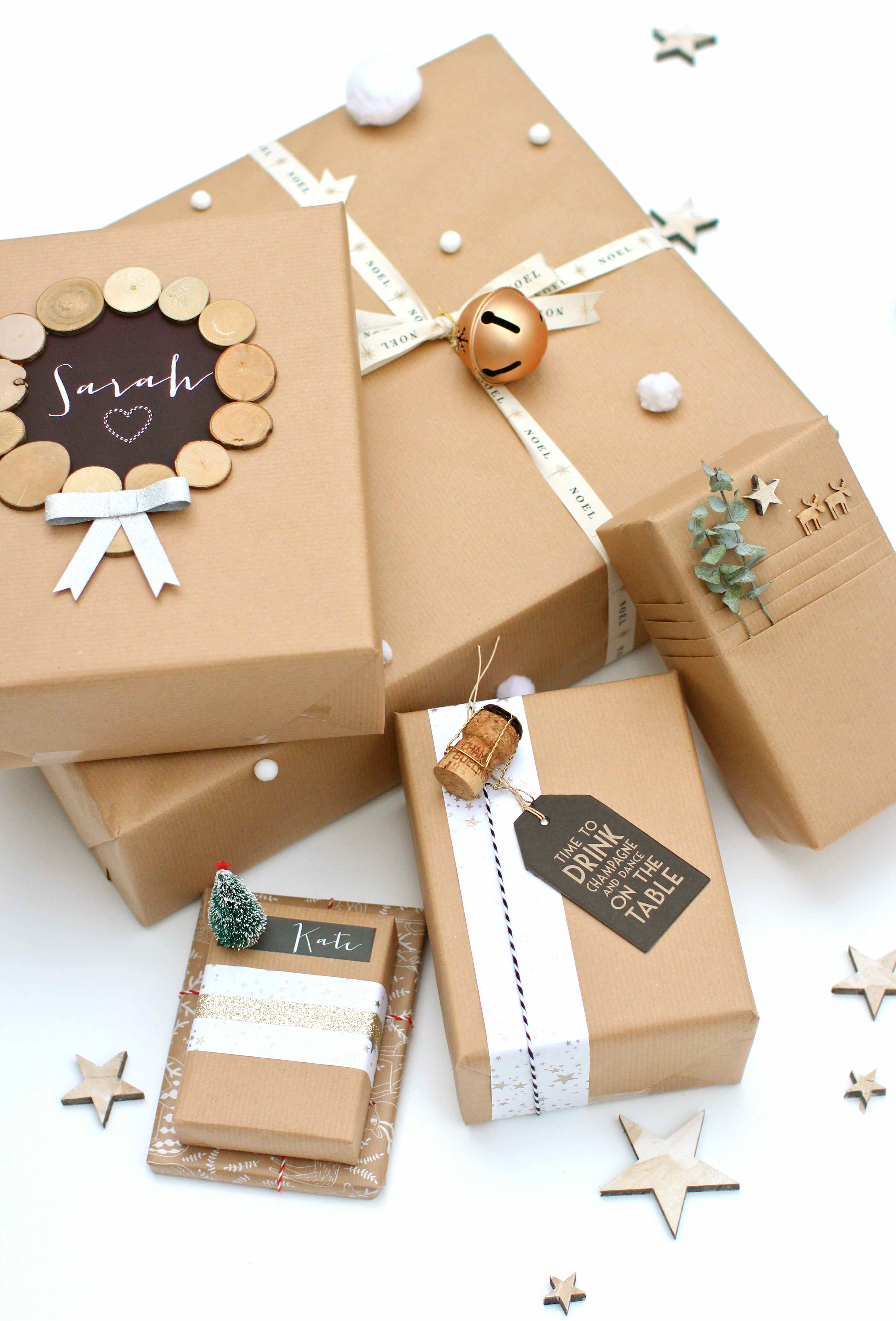Brown paper packages tied up with string negle Images