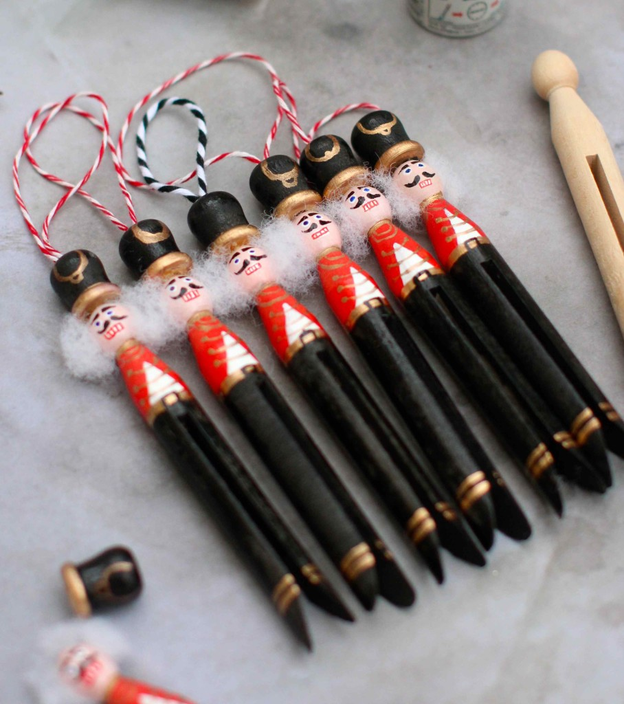 DIY Nutcracker decorations