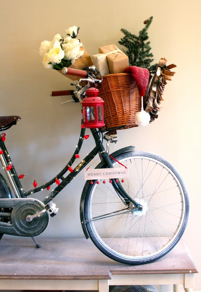 Delivery bike for christmas