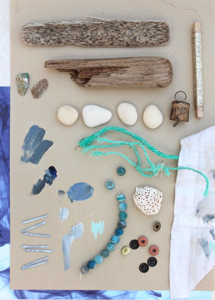 Materials for making driftwood boats