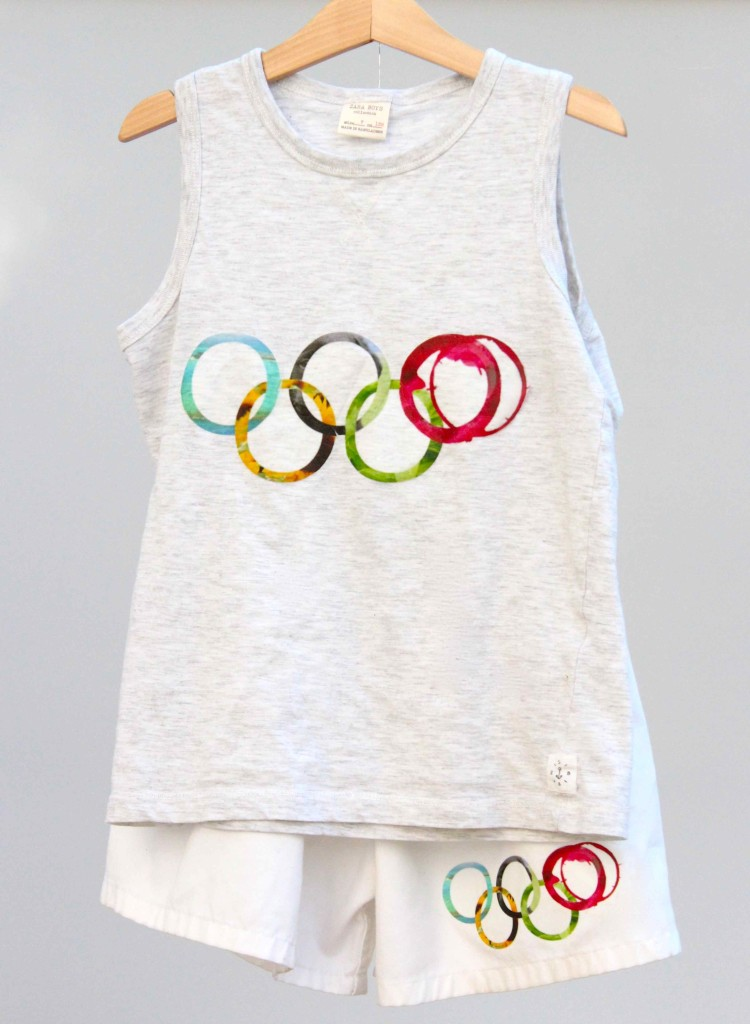 Olympics kids outfit