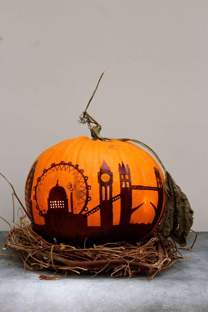London Skyline Pumpkin