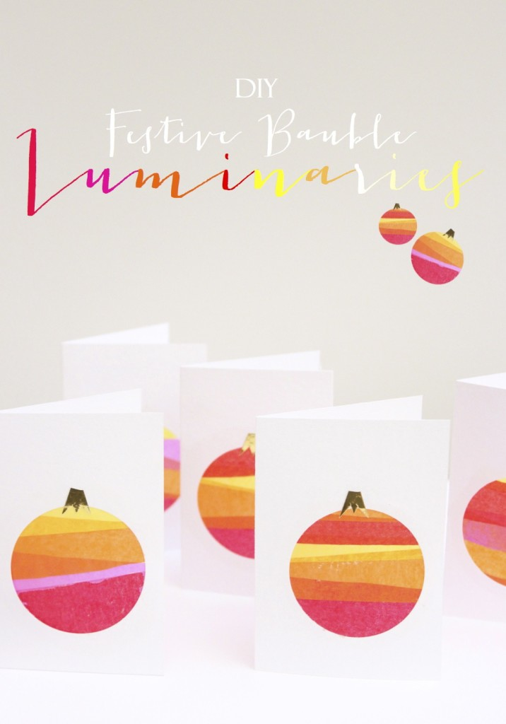 Luminary Bauble Cards