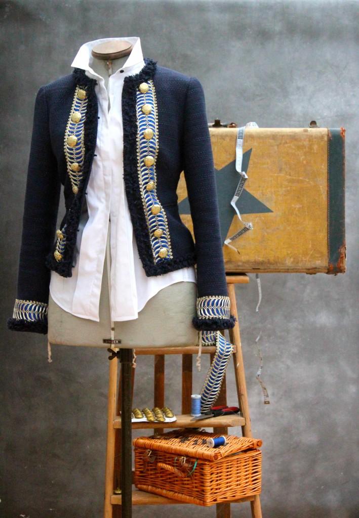 DIY military jacket