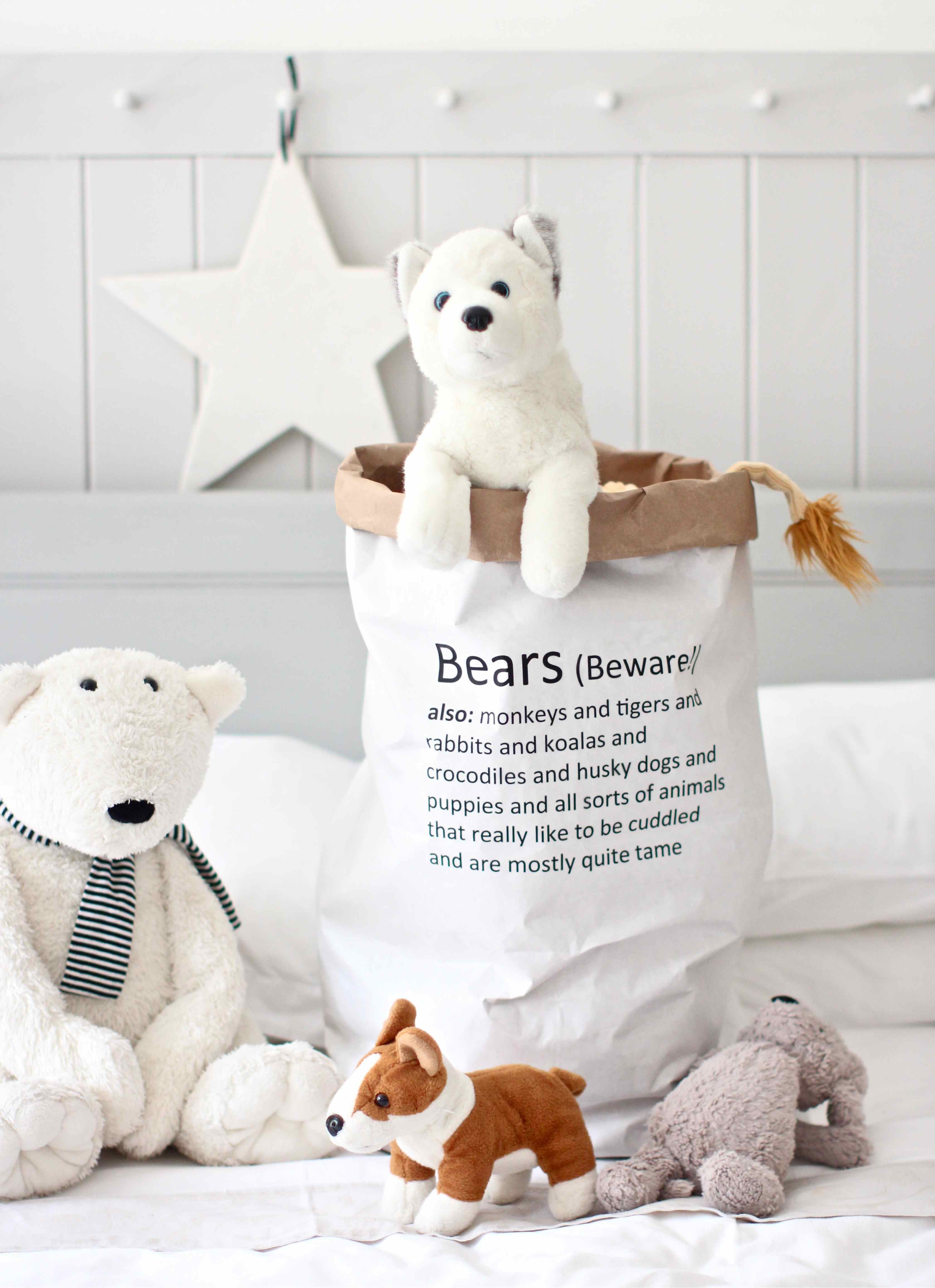 DIY Bear Bag (made from a paper sack)  sc 1 st  Kateu0027s Creative Space & 2017 August