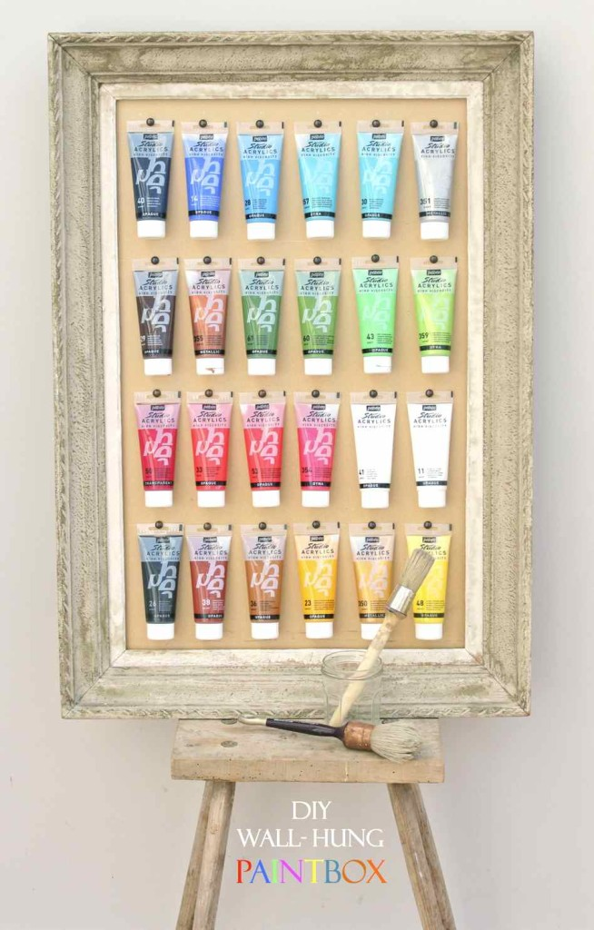 DIY Wallhung Paintbox