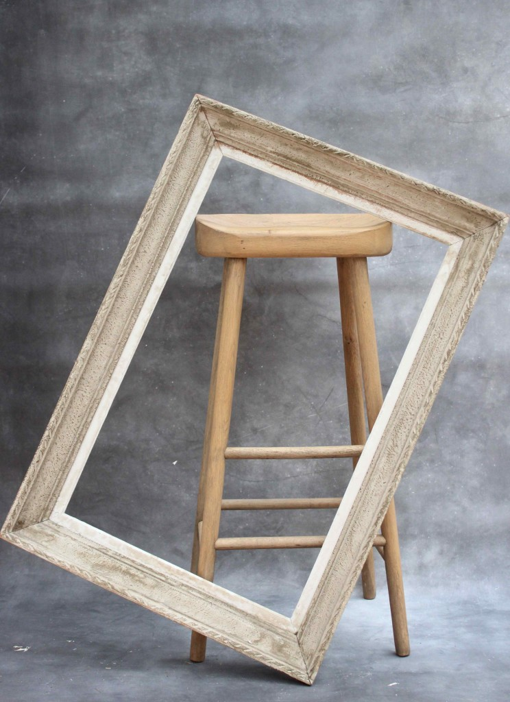 Old French picture frame