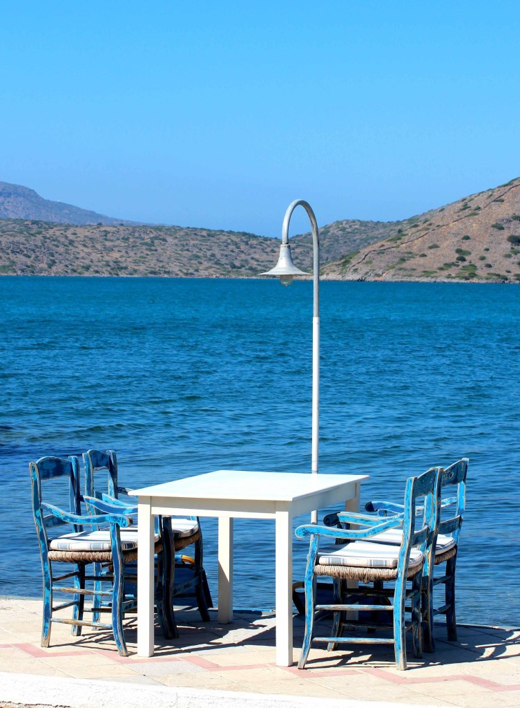 Restaurant in Elounda in Crete