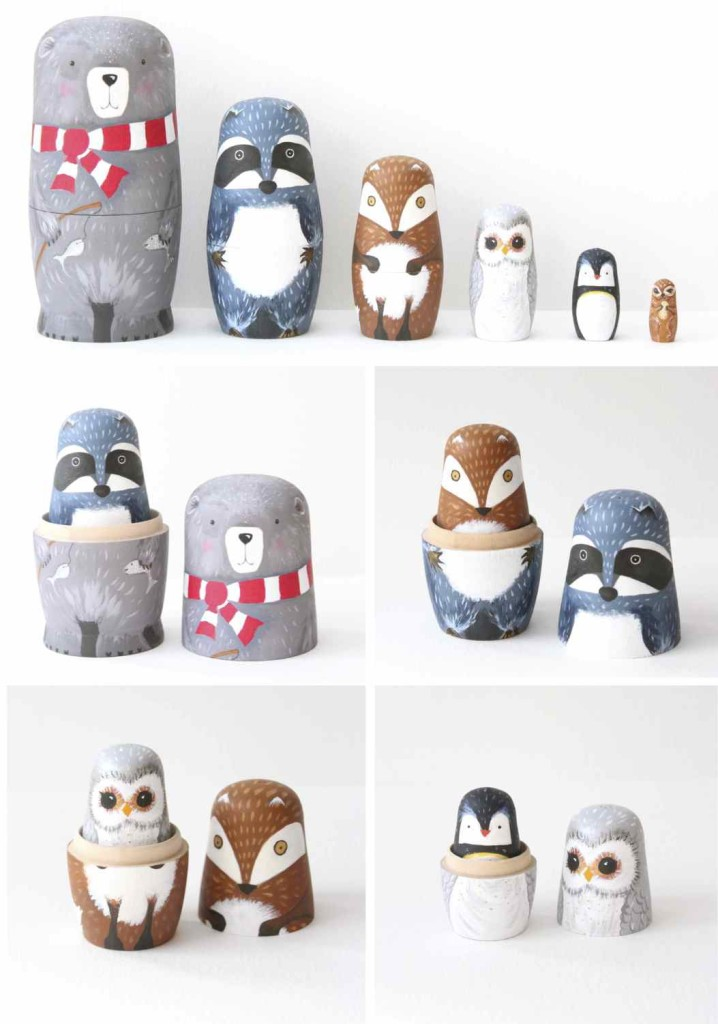 DIY Animal Matroyshka