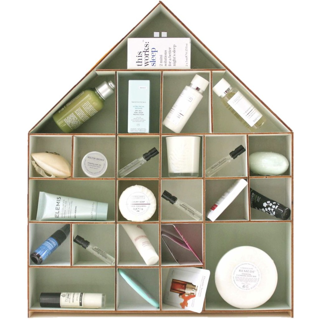 DIY beauty gift advent calendar