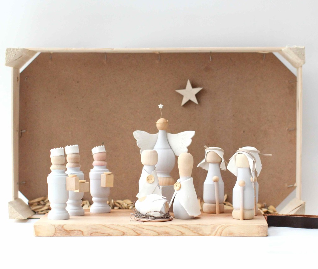 How to make a simple nativity set