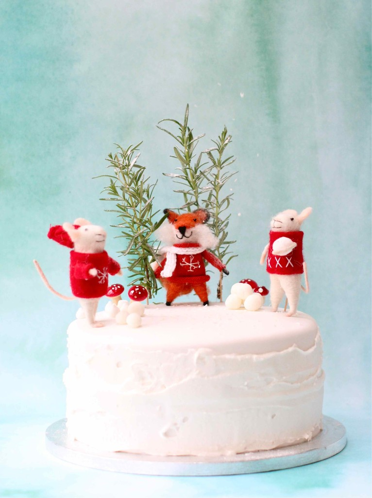 Fun and festive Christmas cake